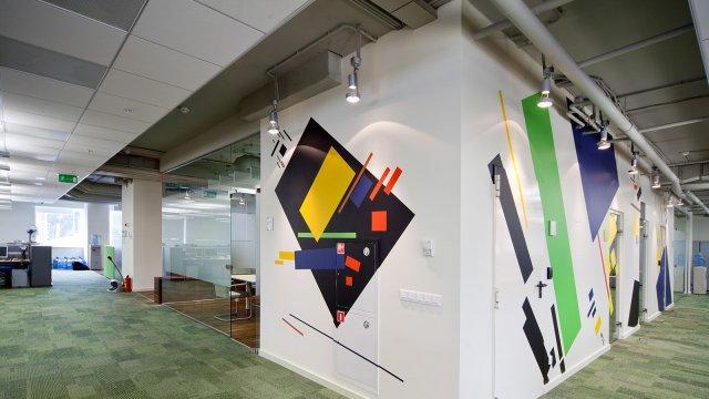 Изображение 4 - оформление стен офиса в стиле конструктивизма