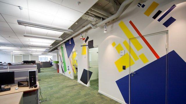 Изображение 5 - оформление стен офиса в стиле конструктивизма
