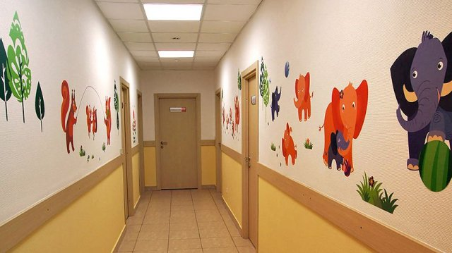Изображение 9 - оформление детской поликлиники Альфа-страхования