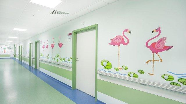 Изображение 11 - Оформление стен детского эндокринологического центра