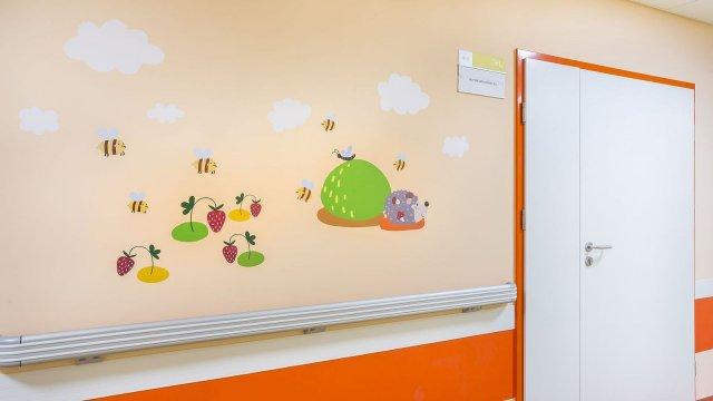Изображение 24 - Оформление стен детского эндокринологического центра