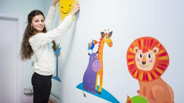 Изображение 6 - Оформление стен детского эндокринологического центра