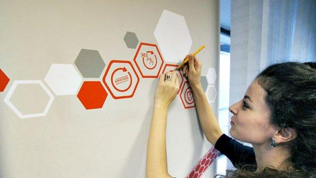 Изображение 6 - Декор стен офиса АВТОКОННЕКС