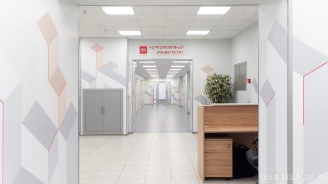 Изображение 12 - Дизайн коридоров офиса