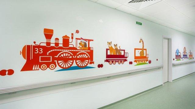 Изображение 10 - Оформление стен детского эндокринологического центра